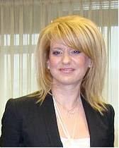 English: Theodora Tsagkri, greek politician, d...