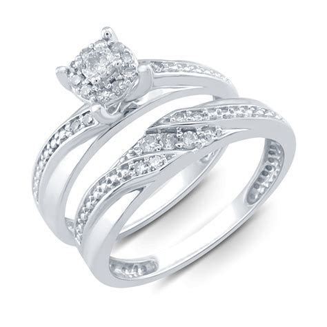Tradition Diamond 10K White Gold .25 CTTW Certified Round