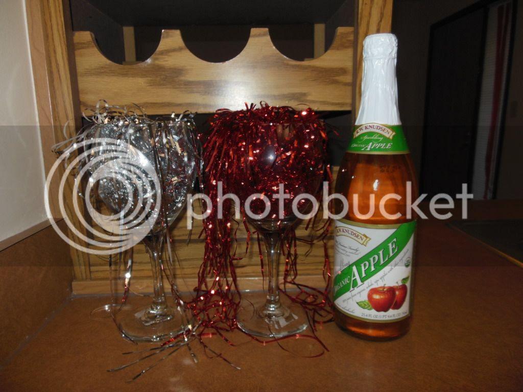 Sparlking cider to celebrate