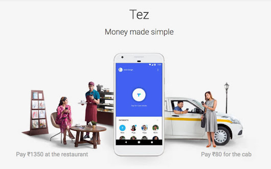 Google Tez App Launched in India - Telecom Clue™