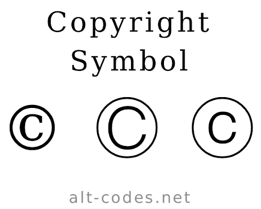 Copyright Symbol Is Updated You Can Also Download Symbol Png Http