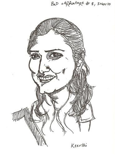 Caricature - Keerthi
