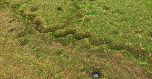 The Fading Battlefields of World War I