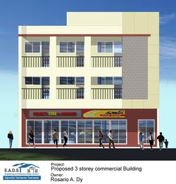 Group Of Proposed Two Storey Commercial