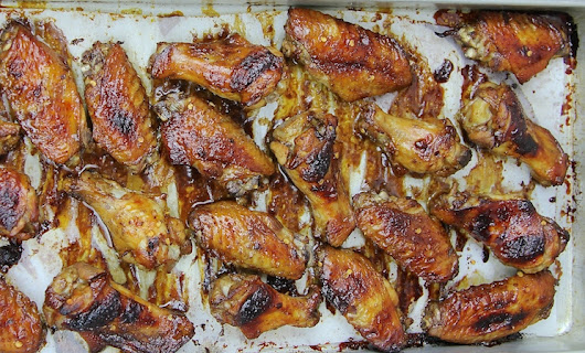 Dare you to eat just one balsamic-glazed chicken wing. - nwafoodie :