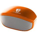 Life N Soul BM208-O Bluetooth Stereo Speaker (Orange)