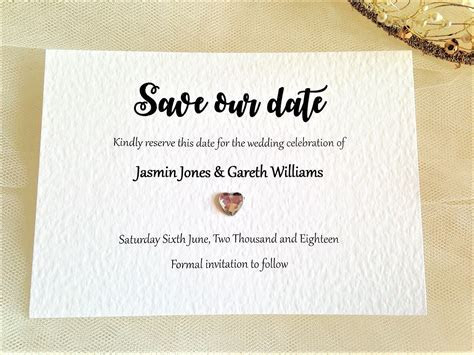 Canterbury Save The Date Cards   Wedding Save The Date