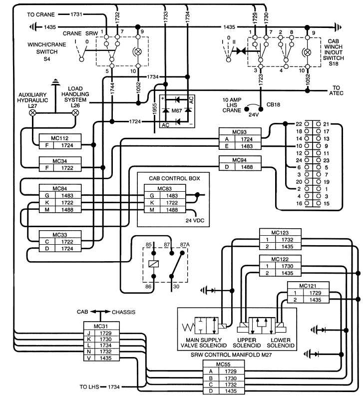 Winch Wiring Schematic