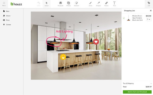 How to Draw on Houzz Photos to Show Exactly What You Like