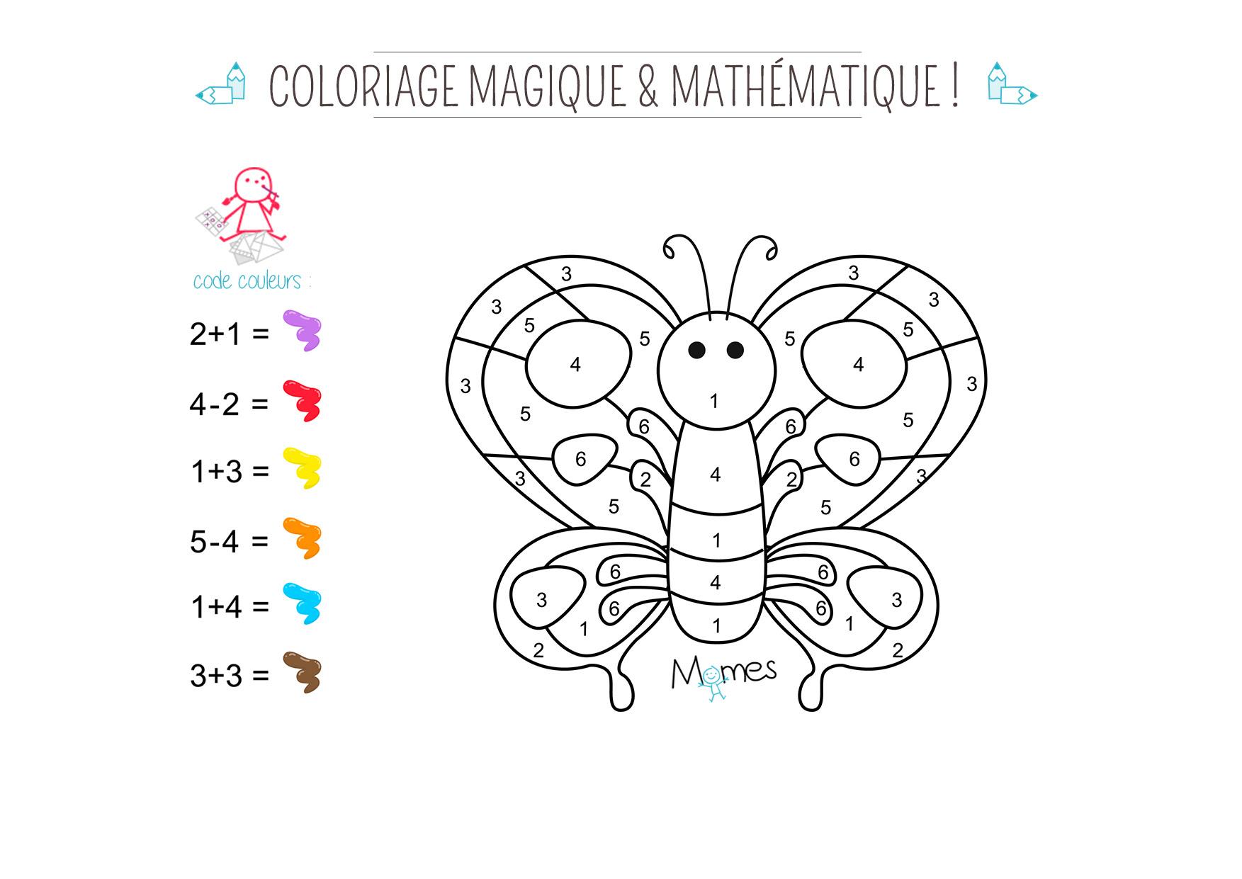 Coloriage Magique 3 Ans L