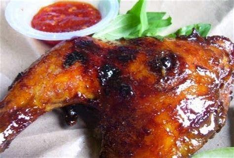 resep   membuat ayam bakar madu spesial enak