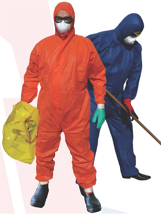 ASBESTOS Rated Protective Gear