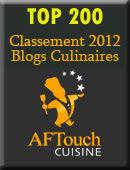 Top 200 des blogs culinaires