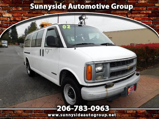 Used 2002 Chevrolet Express 2500 for Sale in Seattle WA 98133 Sunnyside Automotive Group