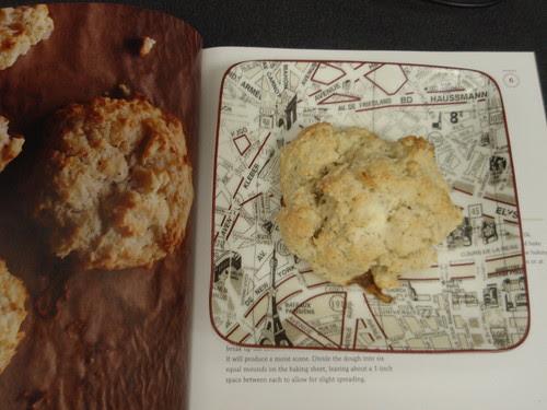 comparing scones