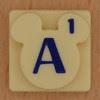 Disney Scrabble Letter A