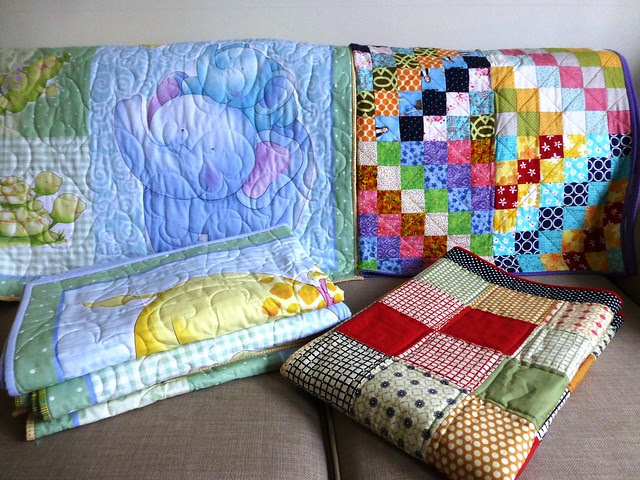 Bee Blessed quilts to Philippines Nov13