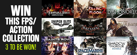 Win a FPS / Action Steam Collection