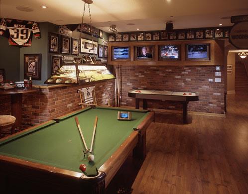 game room via DreamDesignLive's