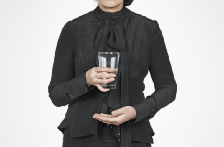 Artist Marina Abramovic On The Importance Of Drinking Water Funny