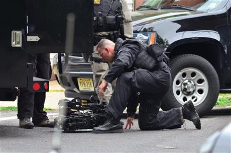 Standoff with armed gunman in NJ enters a 3rd day