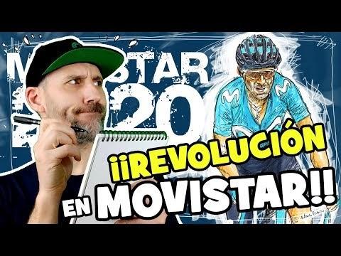 La GRAN REVOLUCIÓN del equipo MOVISTAR para 2020 - Alfonso Blanco