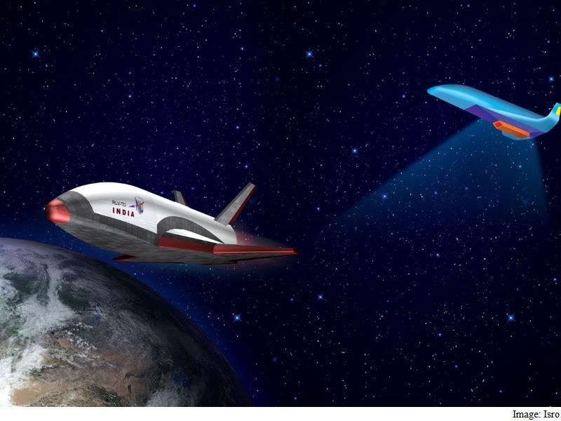 भारत के प्रथम स्वदेशी अंतरिक्ष यान आरएलवी का सफल प्रक्षेपण