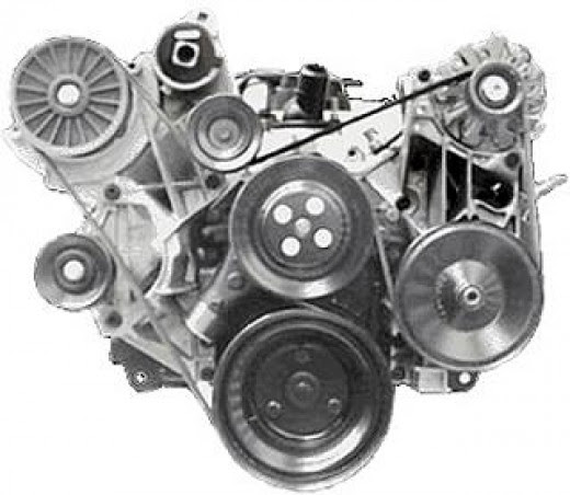 Online marketing Tips & Small  Business Idea: New Serpentine Belt routing for 305 chevy engine