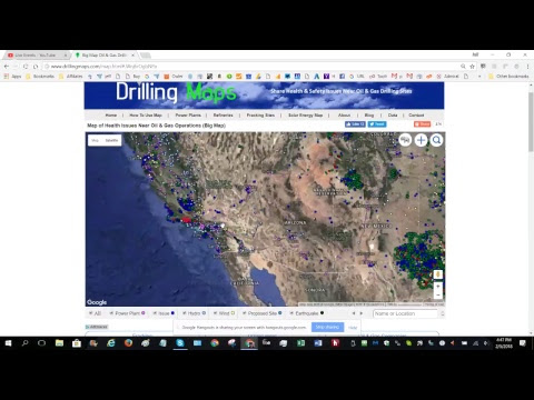 How to Find Oil & Gas Wells Using Satellite Map Images