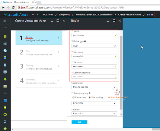 PART 9: CREATING AND MANAGING VIRTUAL MACHINE (VM) USING MICROSOFT AZURE RESOURCE MANAGER PORTAL