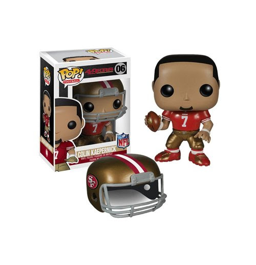 Buy NFL POP! Football Vinyl Figure Colin Kaepernick SF 49ers 9 cm