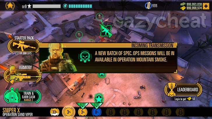 SNIPER X WITH JASON STATHAM v1.6.0  Cheats