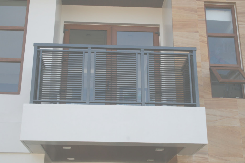 Fancy Modern Balcony Railing Philippines Balcony Intended For Set Grill Design For Balcony Ideas House Generation