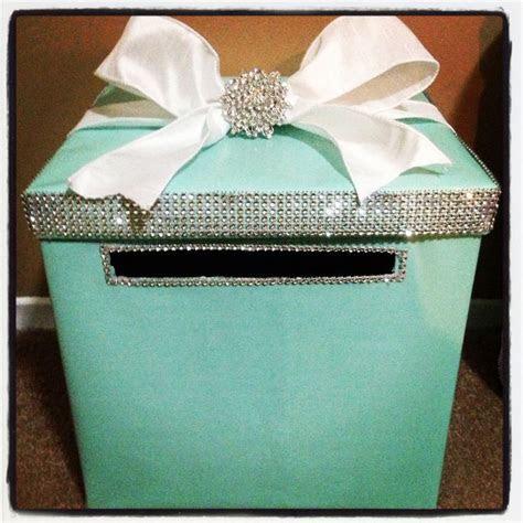 My breakfast at Tiffany's bridal shower busta box