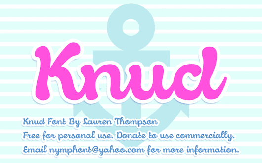 Knud font by Nymphont - FontSpace