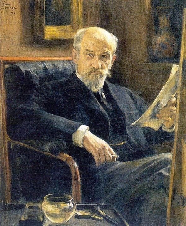 Портрет Андрея Ивановича Сомова. 1897