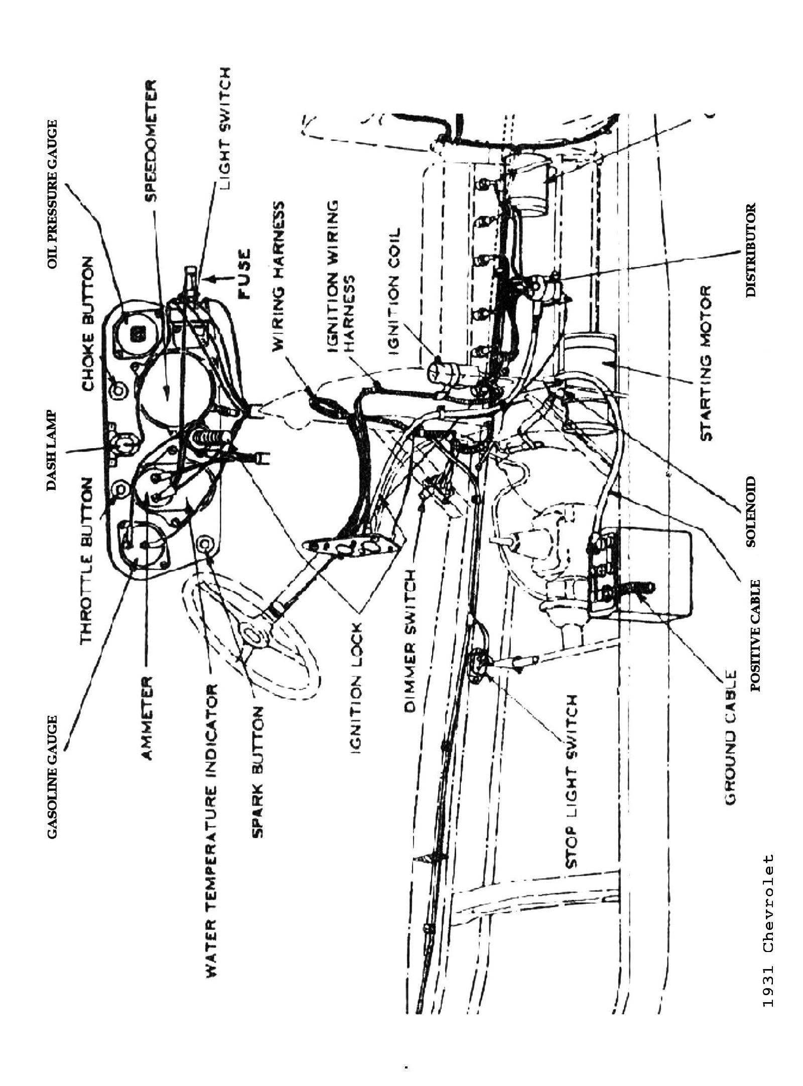 31 Ford Wiring Diagram