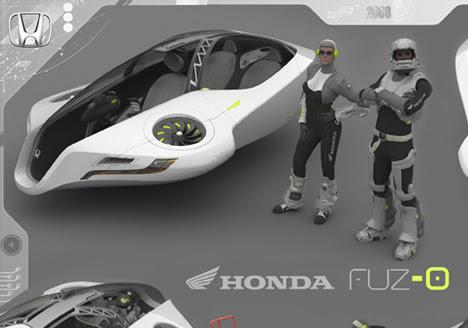 hondafuzo Honda Hovercar