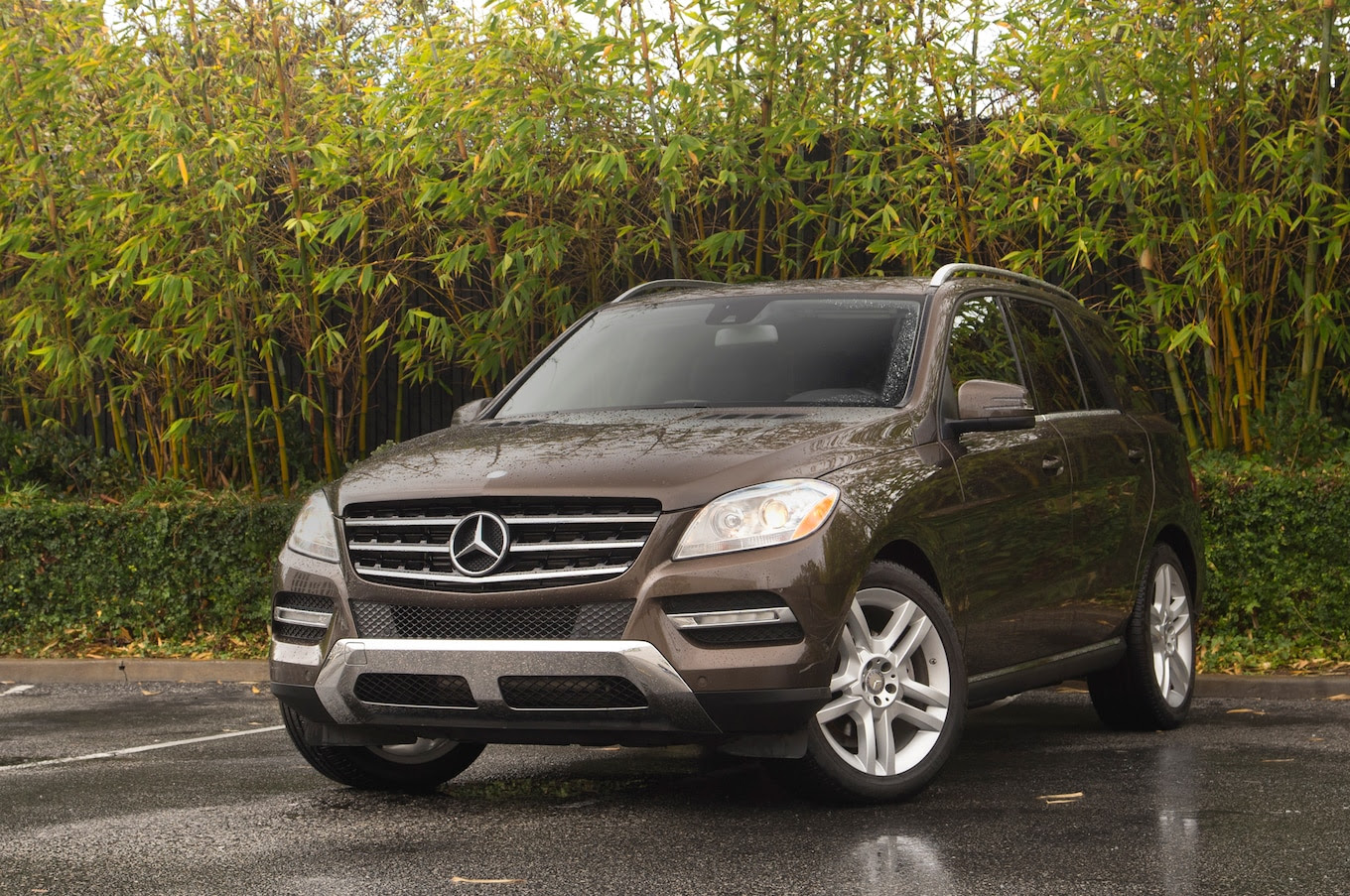 2014 Mercedes-Benz ML350 Bluetec First Test - Motor Trend