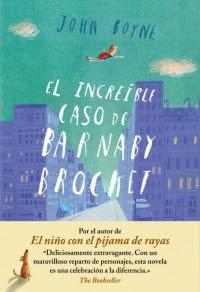 El increíble caso de Barnaby Brocket (John Boyne)