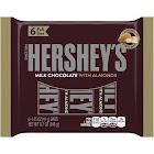 Hershey's Milk Chocolate with Almonds - 6 bars, 1.45 oz each