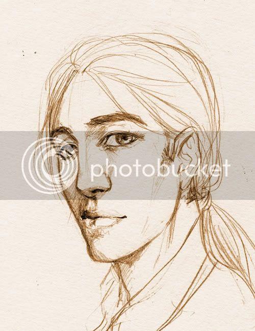 Skizze junger Mann griechisch