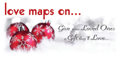 Personalised Christmas Gifts from Love Maps On