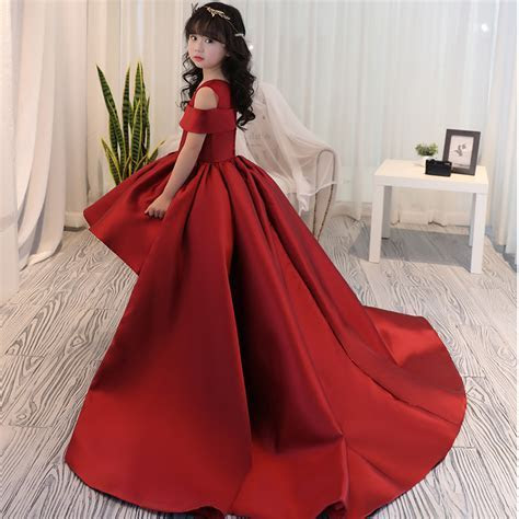 Girls Dress Kids Formal Wear Princess Dress Girls Clothes