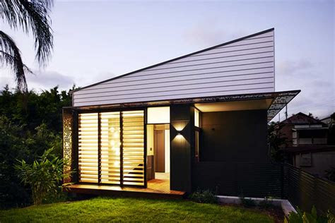 small  sqm infill home design  brisbane australia