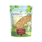 Organic Pearl Barley, 1.5 Pound - by Food to Live