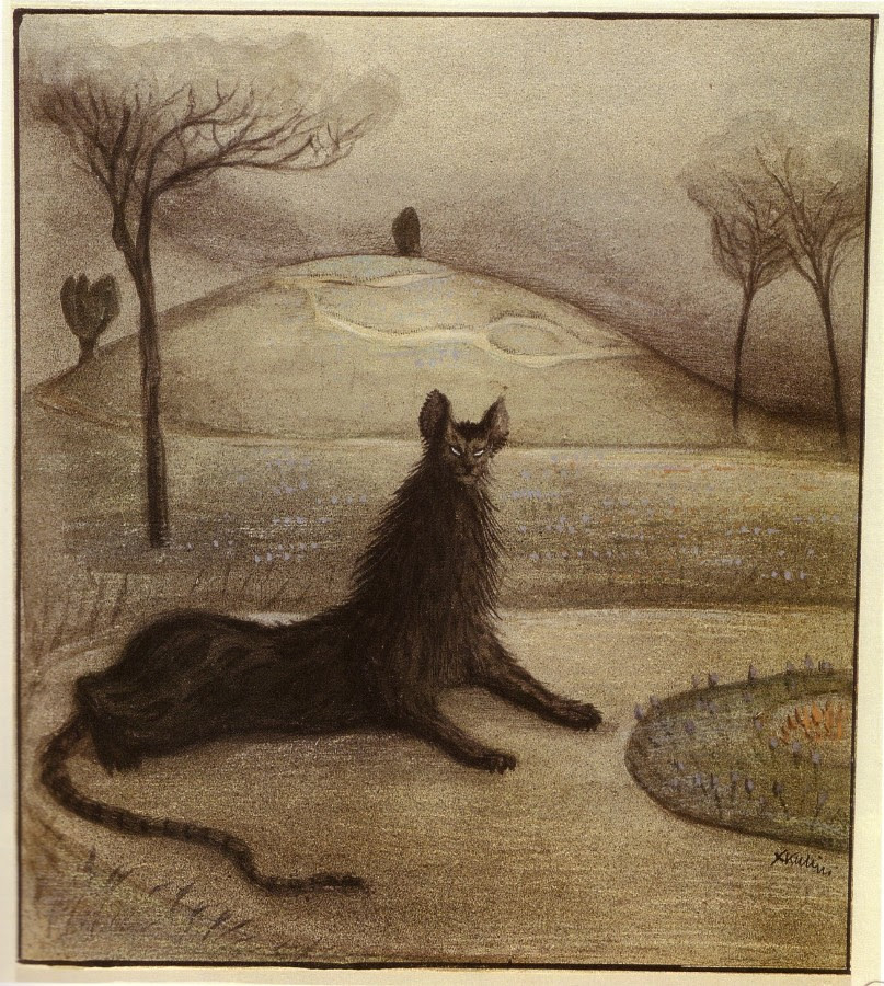 Alfred Kubin, Dream Animal, 1903