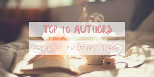 Top 10 Tuesday - Authors I've Read The Most Books From
