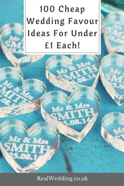 100 Cheap Wedding Favours Under £1 Each!   Real Wedding