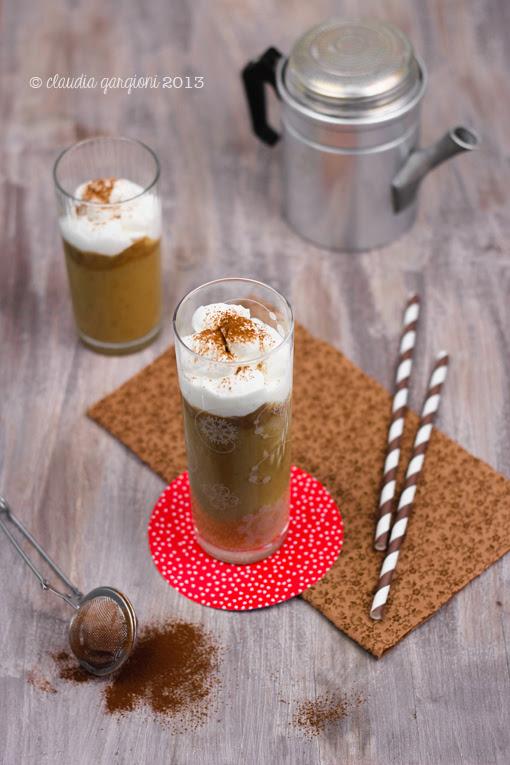 frullato di banana e caffé